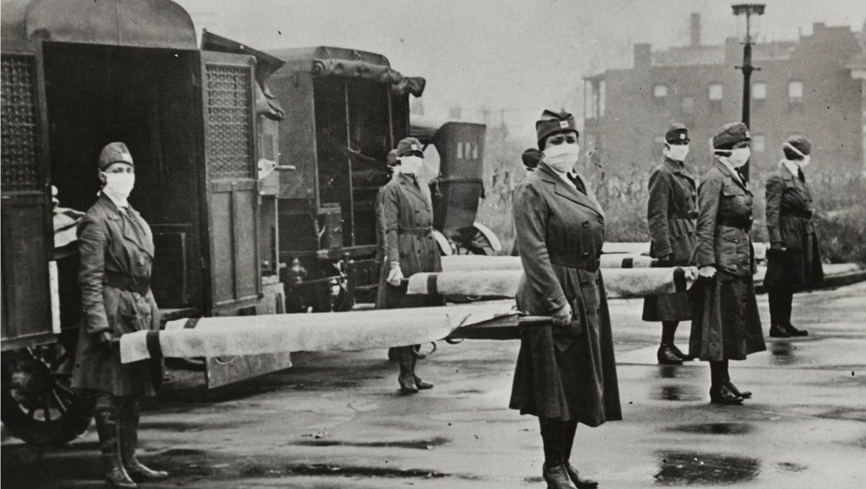"""לחיות בתקופת השפעת הספרדית 1918 בארה""""ב , מיומנה של הטי מיירס"""