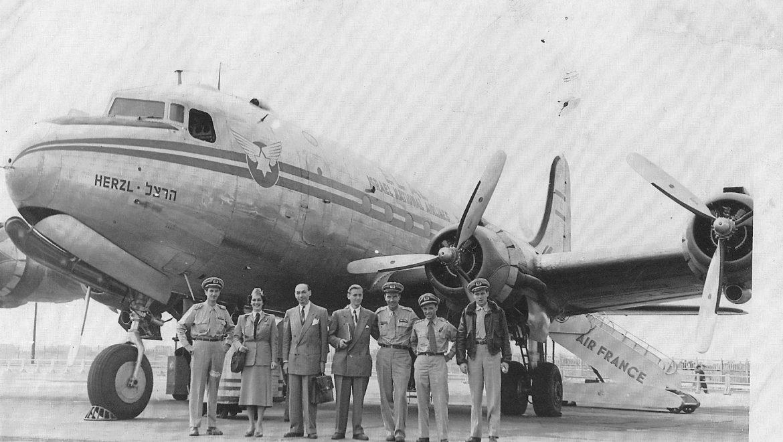 הילד , ניצול השואה מרומניה , שהפך להיות הטייס הראשי של אל על