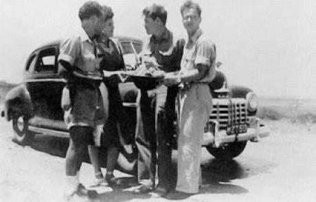 """סיפור חייו של סרן איתמר גולני ז""""ל הבן הראשון של קיבוץ אפיקים ומראשוני הצנחנים"""