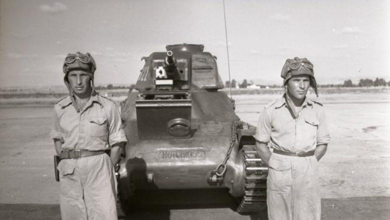 """פליקס ביאטוס , מפקד גדוד השריון הראשון של צה""""ל במלחמת העצמאות"""