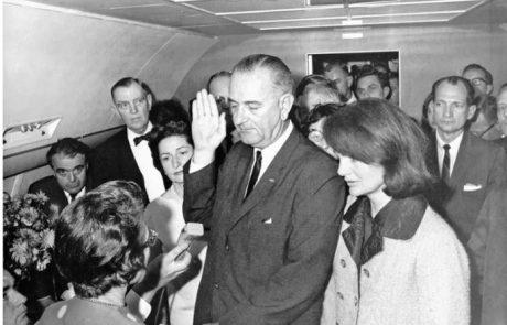 לא הלך בתלם : הביוגרפיה המפתיעה של הנשיא ג'ונסון