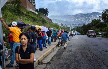 להישרד בין משטר דיכוי , רעב וביזה : כיצד הפכה מריולי קורניילה לבוזזת מזון בונצואלה
